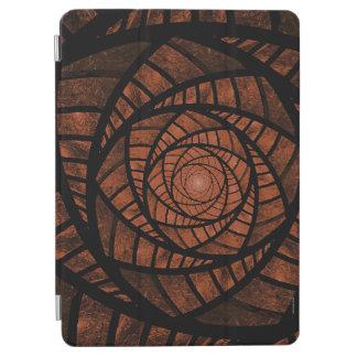 Brown Spiral iPad Air Cover