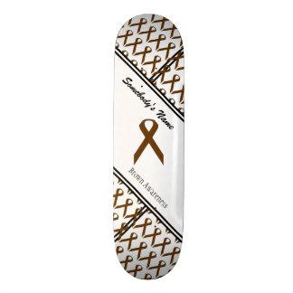 Brown Standard Ribbon 20.6 Cm Skateboard Deck