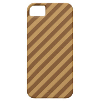 Brown Stripe Pattern. iPhone 5 Cover