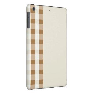 brown stripes pattern ipad mini retina case
