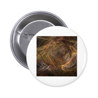 Brown Sublime Abstract Design Pinback Buttons