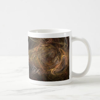 Brown Sublime Abstract Design Coffee Mugs