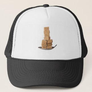 Brown sugar cubes trucker hat