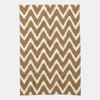 Brown Sugar Southern Cottage Chevrons Tea Towel