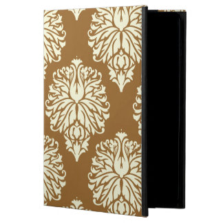 Brown Sugar Southern Cottage Damask Case For iPad Air