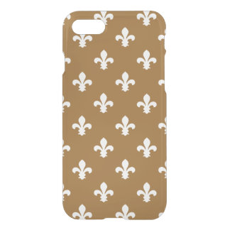 Brown Sugar Southern Cottage Fleur de Lys iPhone 8/7 Case
