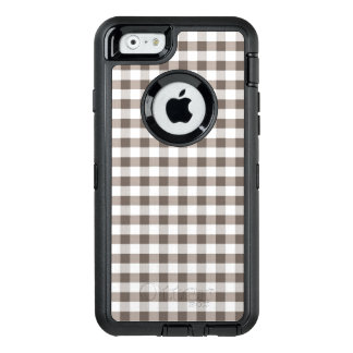 Brown Table Cloth Pattern OtterBox iPhone 6/6s Case