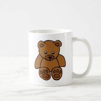 Brown Teddy Bear Coffee Mug