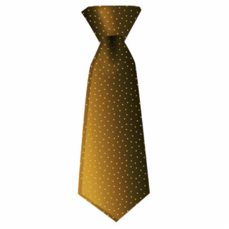 Brown Tie Cut Out