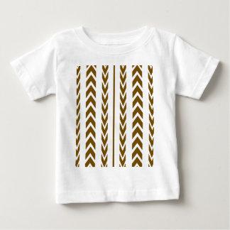 Brown Tire Tread Baby T-Shirt