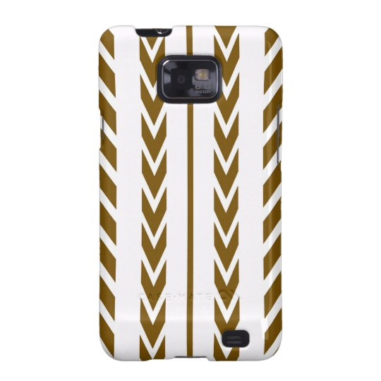 Brown Tire Tread Galaxy SII Cover