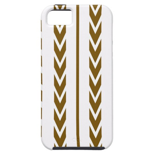 Brown Tire Tread iPhone 5 Cover