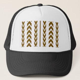 Brown Tire Tread Trucker Hat