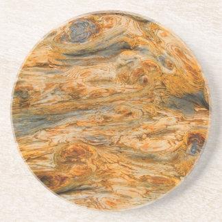 Brown Tones Natural Tree Bark Pattern Texture Coaster
