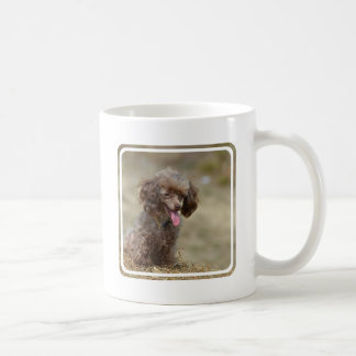 Brown Toy Poodle Coffee Mug