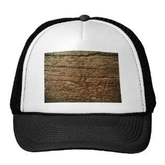 brown tree wood trucker hats