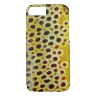 Brown Trout by PatternWear© iPhone 7 Case