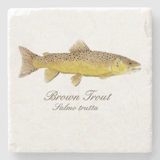 Brown Trout Coaster Stone Coaster