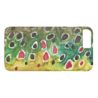 Brown Trout Fisherman's iPhone 8 Plus/7 Plus Case