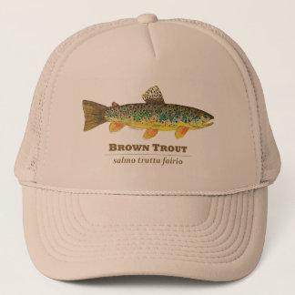 Brown Trout Latin Ichthyology Trucker Hat