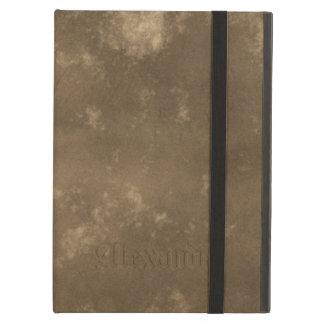 Brown Vintage Leather Look iPad Air Cover