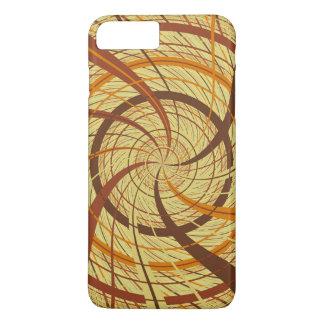Brown vortex iPhone 8 plus/7 plus case