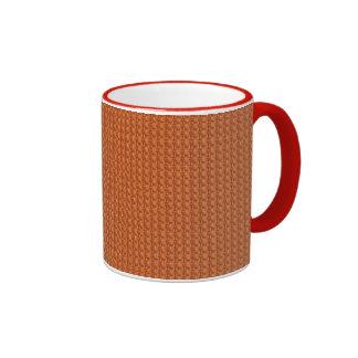 Brown Weave Coffee Mug