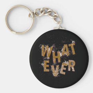 Brown Whatever Key Ring