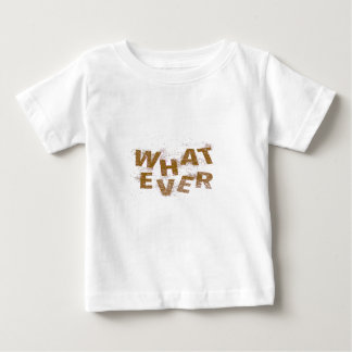 Brown Whatever PNG Baby T-Shirt