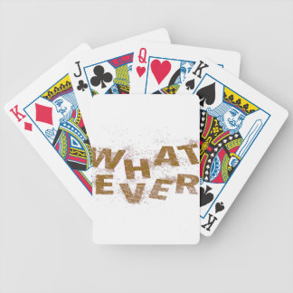 Brown Whatever PNG Bicycle Playing Cards