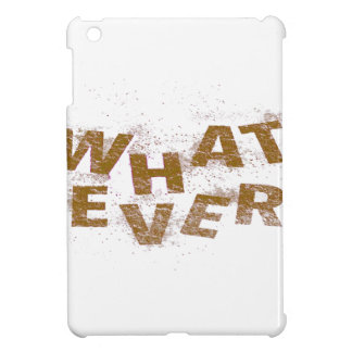 Brown Whatever PNG iPad Mini Cover