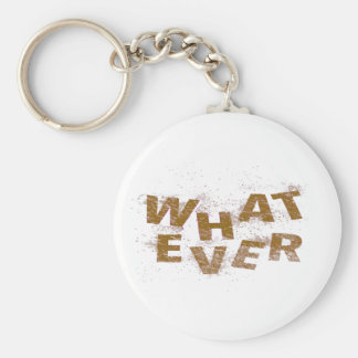 Brown Whatever PNG Key Ring