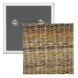 Brown Wicker Texture Buttons