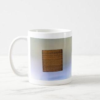 Brown Wicker Texture Coffee Mug