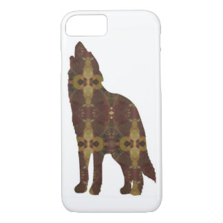 Brown Wolf IPhone Case