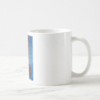 brown wolf coffee mug
