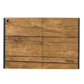 Brown Wood Look Custom iPad Air Case