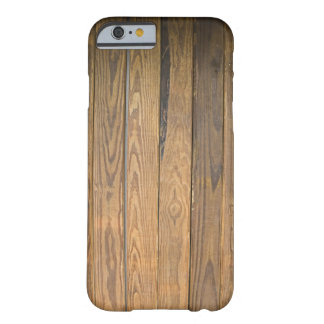 Brown Wood Looking Pattern Barely There iPhone 6 Case