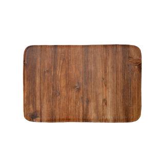Brown Wood Wall Texture Structure Bath Mats