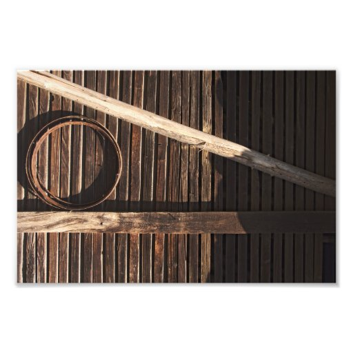 Brown Wooden Planks Barn Wall - rural photography Art Photo