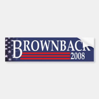 Brownback for President Bumper Sticker