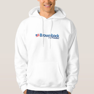 Brownback for President Sweatshirt