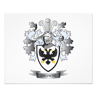 Browne Coat of Arms Photographic Print
