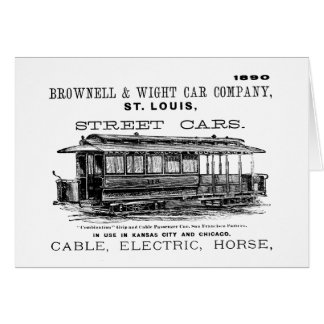 Brownell Car Company 1890 Card