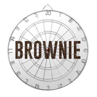 Brownie Dartboard