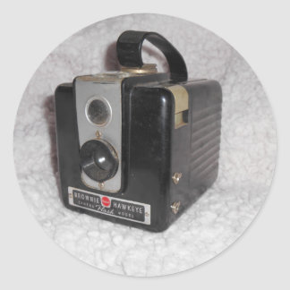 Brownie Hawkeye Camera Sticker
