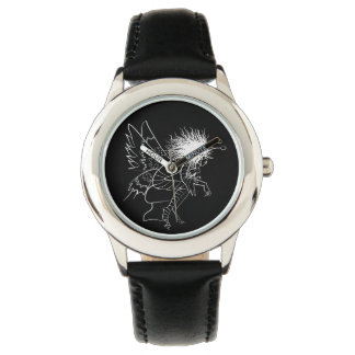 Brownie Sketch Elegant Fairy Tale Fantasy Artistic Watch