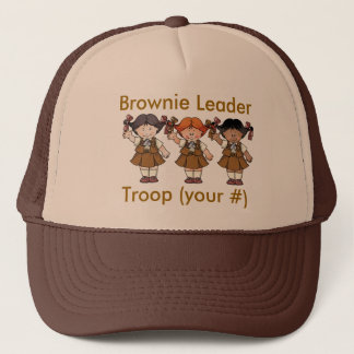 Brownie Troop Leader Trucker Hat