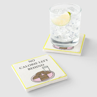 brownies stone coaster