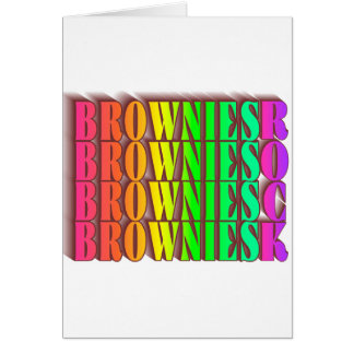 BROWNIESROCK CARD